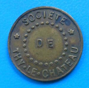Belgique Belgie Belgium Société de Thy-le-Chateau 10 centimes