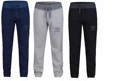 Adidas New Mens Originals SPO Fleece Tracksuit Bottoms Sports Gym Joggers