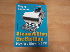 Steamrolling the sicilian by GM sergey Kasparov octobre 2013 New in Chess
