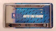 Brooklyn Nets Metal Chrome License Plate Frame Auto Truck Car NBA NEW