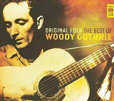 Original Folk: The Best of Woody Guthrie by Woody Guthrie (CD, Jun-2008, 2 Discs, Demon Records (UK))