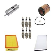 For BMW E53 X5 4.4 4.6 2003 Tune Up Kit Air Fuel Oil Filters Spark Plugs