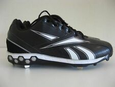 Reebok Mens Baseball Cleats Size 14 MLB PlayDry Black HexRide Metal Pro Style