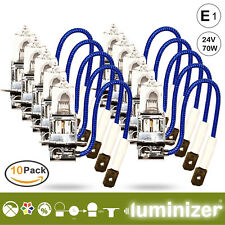 LUMINIZER® 10xH3 24V 70W Halogen Auto Lampen PK22S Glühlampe Birnen Ersatzlampe