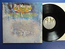 RICK WAKEMAN  JOURNEY TO THE CENTRE OF THE EARTH a&m A1B1 1st pr EX/EX+
