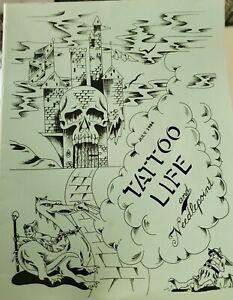 vintage july1984 tattoo life original magazine jack rudy i-view flash photo pike