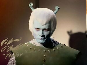 William O' Connell - Star Trek Andorian - Thelev - hand signed 10 x 8 photo