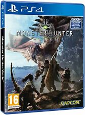MONSTER HUNTER: WORLD PS4 EU NUOVO SIGILLATO ITA STANDARD EDITION HORIZON