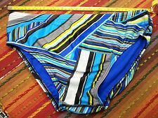 Speedo Men's Blue Swimsuit Bikini - blue liner - Size US36 NWOT