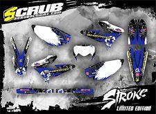 SCRUB SHERCO graphics decals kit SE 250 300 450 2009 - 2011 stickers MX '09-'11