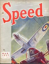Speed Magazine 3/37 Petre Wisdom Nurburg Ring Sailing & Motor Boats Monte Carlo