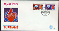SURINAME E156 FDC 1992 - 50 jaarY.M.C.A.