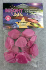 Bright Side Bright Lights Submersible Pink Led Lights 12-Pack for Floral 1143