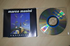 Marco Masini - La libertad. CD-Single (CP1708)