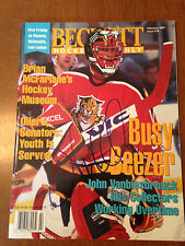 John Vanbiesbrouck Autograph Beckett Rangers/Panthers