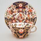 Fine Royal Crown Derby Imari Japan Pattern 8683 Tea Cup & Saucer #1