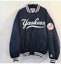 New York Yankees Starter 1998 Worlds Series Jacket, Vintage Warm Up