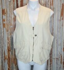 Vintage Woolrich Vest Women's XL Outdoor Hunting Fishing Utility Photography