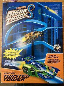 Lionel Mega Tracks Twisted Tower Stunt Set 26 Piece NEW Sealed