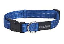 Buster Adjustable Reflective Collar, Medium Blue, Premium Service, Fast Dispatch