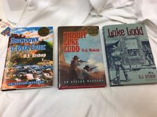 (3) Autographed Books By D.J. Bishop, Luke Ludd, Sheriff Luke Ludd, Showdown