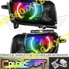 ORACLE Halo HEADLIGHTS Chevrolet Camaro RS 10-13 LED COLORSHIFT Simple RGB & HID