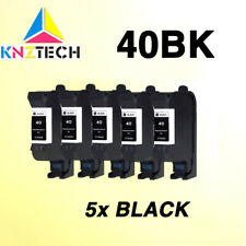 5x compatible for hp40 ink cartridges replace for hp 40 51640A D2680 F4240 F4280