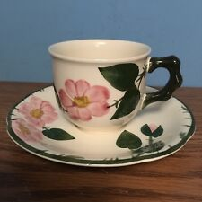 "Villeroy & Boch Germany Wild Rose 2 3/4"" 6 oz. Cup & Saucer Set EXCELLENT COND."
