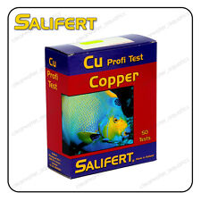 SALIFERT COPPER Cu Profi TEST KIT Marine Reef FISH TANK Water Testing Aquarium