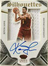 NBA Basketball - KEVIN LOVE - Panini Crown Royale Autograph Jersey Card No.33/35