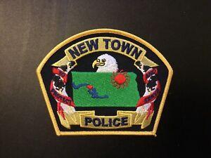 Newtown North Dakota Police Patch Vintage