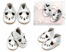 4e7db8fd1c03 Dotty Fish Soft Leather Baby and Toddler T-bar Shoes 0-6 Months Girls