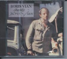 CD Boris Vian chante Boris  Vian - Best of  Neuf sous cellophane
