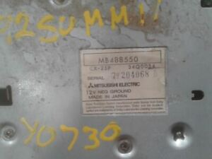 Audio Equipment Radio Receiver Fits 87-96 MITSUBISHI PICKUP 1359281