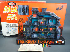 Vintage 1962 Ideal Haunted House Game Complete in Box w/ Instructions