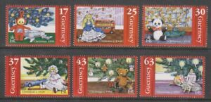Guernsey - 1998, Introduction of the Christmas Tree set - MNH - SG 810/15