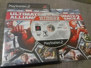 Marvel: Ultimate Alliance 2 (Sony PlayStation 2, 2009) with Manual
