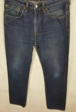 Levi Strauss 501 Mens Jeans, W34 L34, Blue, Good Condition
