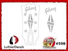 Gibson Guitar Decal Headstock Decal Restoration Waterslide inlay Logo 59b