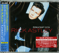 RICK ASTLEY-GREATEST HITS-JAPAN ONLY CD+DVD G29