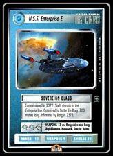 Foil Star Trek: U.S.S ST 1E STCCG D Reflections Lightly Played Enterprise