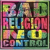 Bad Religion -No Control (re-issue) New CD