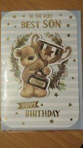VERY BEST SON BIRTHDAY LARGE SIZE BIRTHDAY CARD