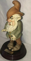 Giuseppe Armani Disney Snow White Sneezy Dwarf Figurine Sculpture