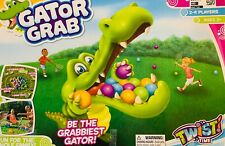 Twist Time Gator Grab Indoor/Outdoor Family Game