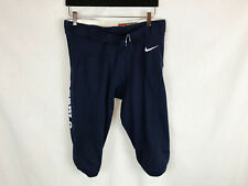 New Nike Ole Miss Rebels Football Game Pants Men's Lg Navy Game Issue