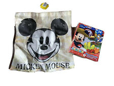 Disney Mickey Mouse Clubhouse 24 Piece Shaped Puzzle Reusable Bag Lot New