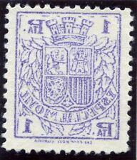 ESPAÑA FISCALES ESPECIAL MOVIL 1936 CALCADO AL DORSO