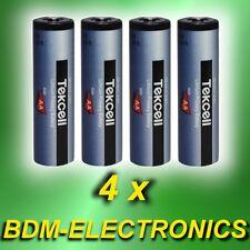 * 4x Ersatzbatterie ABUS FU2992 für Funk-Bewegungsmelder  FUBW5000 / FUBW50010 *