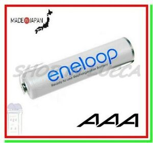 batteria ricaricabile 1,2v a saldare Eneloop pila ministilo AAA 750mAh lamelle Z
